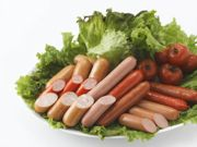 small collagen sausages